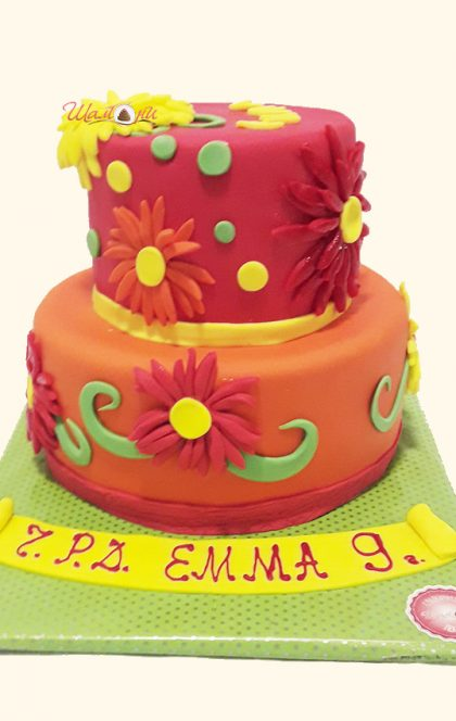 Торта цветя