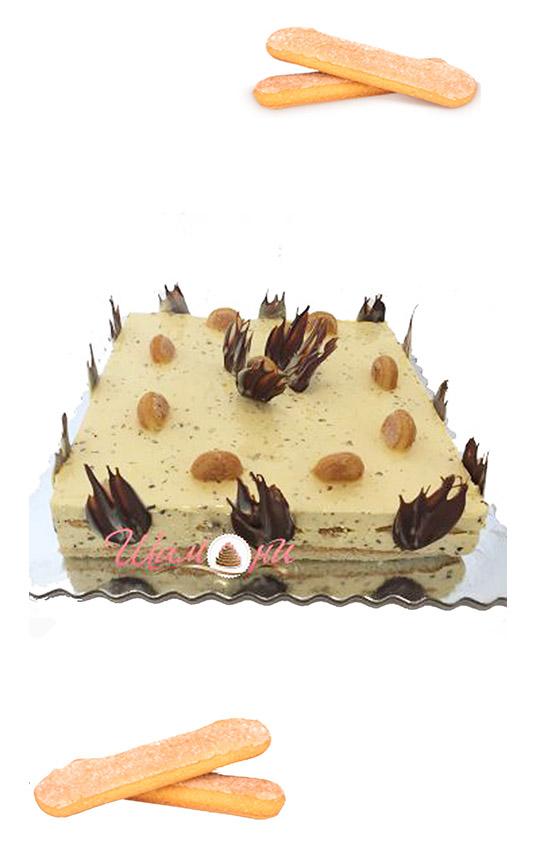 бишкотена торта Шамони