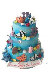 detska torta Shamoni nemo i morski sviat