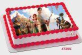 stolen princess открадната принцеса торта от Шамони детски торти К5001