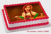 stolen princess открадната принцеса торта от Шамони детски торти К5002