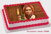stolen princess открадната принцеса торта от Шамони детски торти  К5008