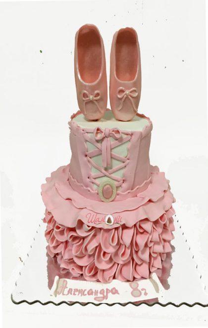 torta balet фигурални торти от Шамони, за детски торти рожден ден