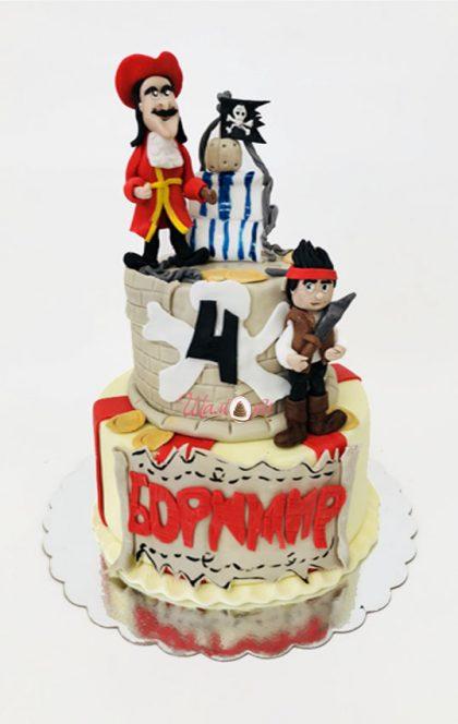 D1251 piratska torta