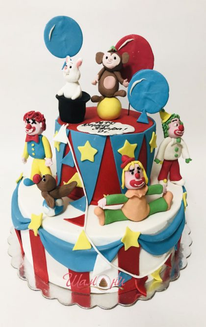детска торта цирк