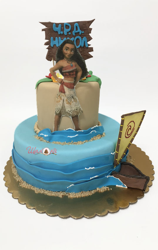 торти за от Шамони, детски торти за рожден ден, Ваяна