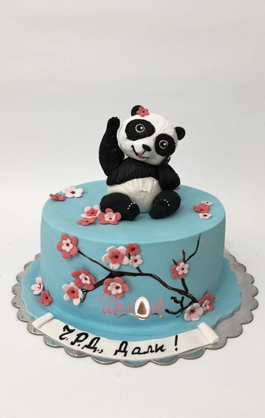 детска торта панда