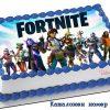 К5155 fortnite cake Торти Шамони