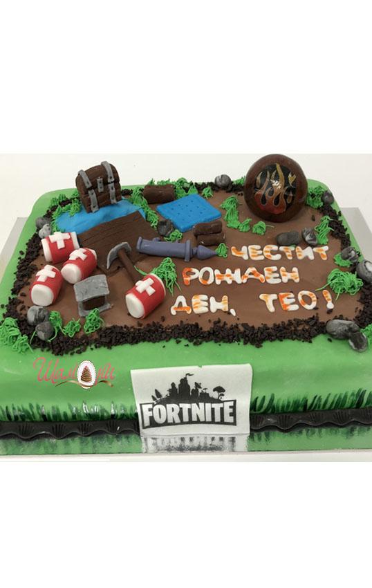 фортнайт торта
