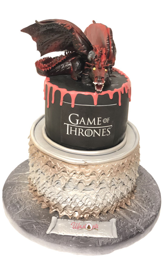 Game of Thrones Shamoni cake