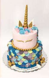 D1286 unicorn cake
