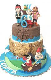 Pirate cake by Shamoni