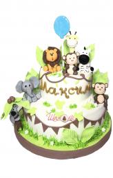 D1313 торта джунгла на Шамони