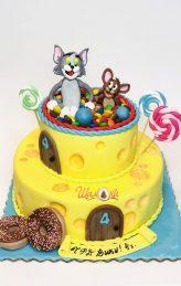 Том и Джери торта