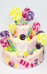 Торта с близалки от сладка къща Шамони.
